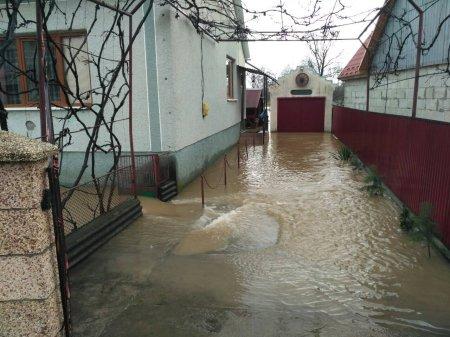 У с.Вонігово на Тячівщині річка прорвала дамбу й підтопила 22 житлові будинки» (фото)