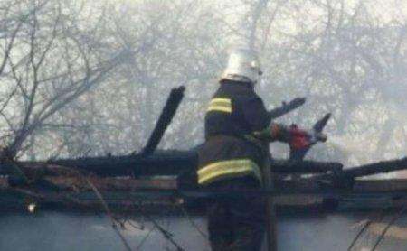 На Мукачівщині горіла літня кухня - обійшлося без жертв
