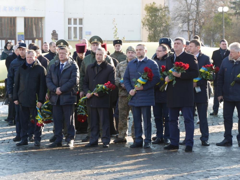Знагоди Дня Соборності керівництво прокуратури Закарпатської області поклали квіти