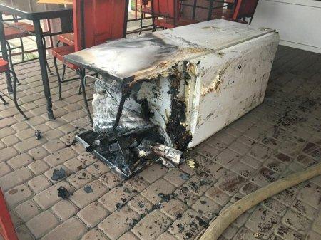 В місті Іршава горіло кафе (фото)