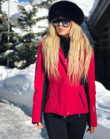 Зимні канікули: як Еріка Герцег відпочивала в Еміратах та в Куршавелі (ФОТО)