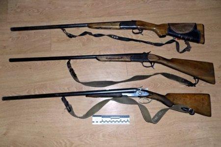 Поліцейські Міжгірщини вилучили в чоловіка зброю та боєприпаси