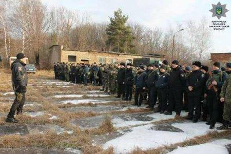 Масштабні навчання поліцейських відбулися на Закарпатті (ФОТО)