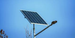У селі Геча на Берегівщині  вуличне освітлення на сонячних батареях (ВІДЕО)