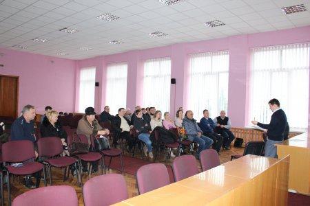 Віталій Любка провів нараду зі стоматологами Виноградівського району