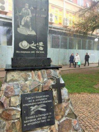 В Берегові відбудеться вшанування учасників бойових дій