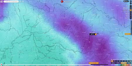 Закарпаття очікують сибірські морози до -26 градусів Цельсія