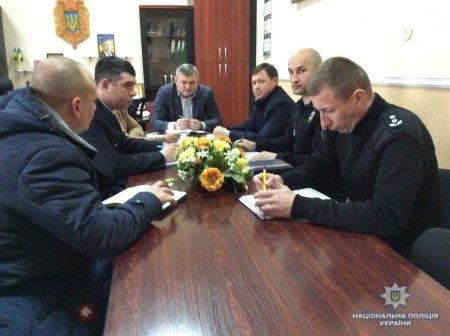 У Мукачеві поліцейські обговорили питання співпраці силових структур у рамках спецоперації «Мігрант» (ФОТО)