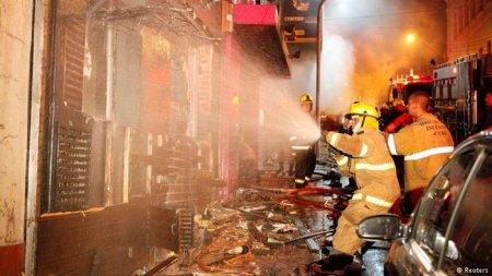 Жахлива пожежа у нічному клубі Італії: вогонь поширювався за секунди