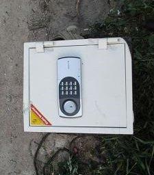 На Мукачівщині з підприємства неповнолітні зловмисники винесли сейф із документами