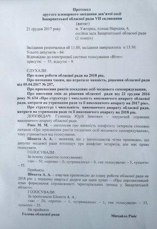 Москаль: «У обласної ради немає голосів для схвалення Перспективного плану формування ОТГ» ( ДОКУМЕНТ)