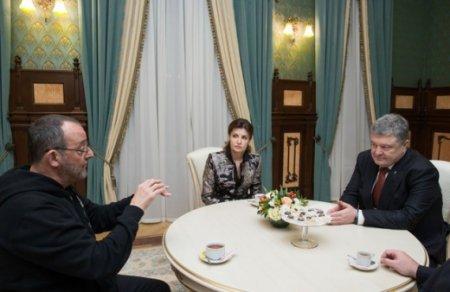 Після зйомок на Закарпатті Жан Рено зустрівся з президентом України