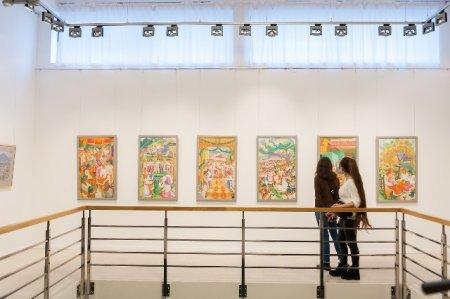 """В арт-центрі """"Галерея ІЛЬКО"""" відкрилася персональна ретроспективна виставка робіт Івана Ілька """"Світку ти мій, Верховино"""""""