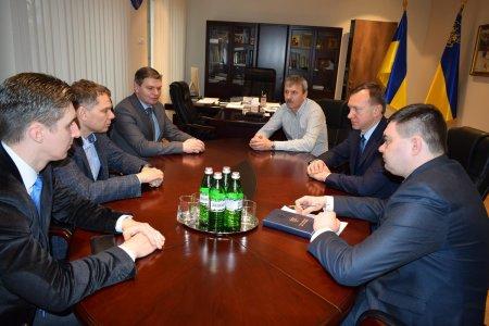 Офіційний візит першого заступника міністра молоді і спорту України до Закарпаття (ФОТО)