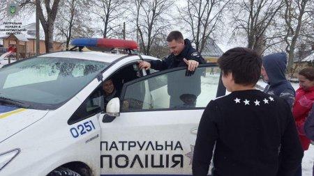 Професія поліцейського очима дітей (ФОТО)
