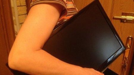 На Закарпатті місцева жінка з готельного номера в якому проживала вкрала телевізор