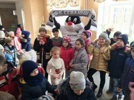 ФК «Севлюш» оголосив набір талановитих дітей до свого клубу