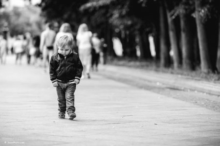 6-річний хлопчик образився і втік з дому.Батьки місця собі незнаходили