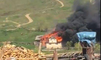 На Рахівщині пожежа забрала будинок...навіть документи не встигли винести