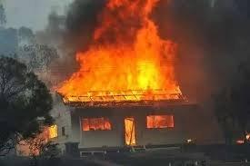 На Закарпатті вогнеборці ліквідували пожежу у житловому будинку та надвірній споруді