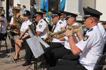 Оркестр поліції Закарпаття готується до весняного сезону виступів
