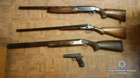 В поліцію принесли зброю восьмеро закарпатців (ФОТО)