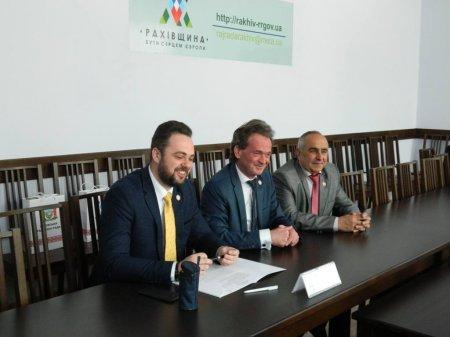 Відбулася тристороння зустріч щодо спільних ініціатив розвитку на Рахівщині (ФОТО)
