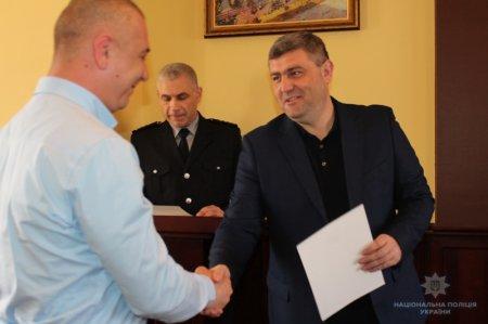 Керівництво поліції Закарпаття привітало працівників Управління карного розшуку зі святом (ФОТО)