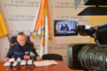 В Ужгороді відбувся брифінг на тему: «Запобігання пожежам у природних екосистемах»