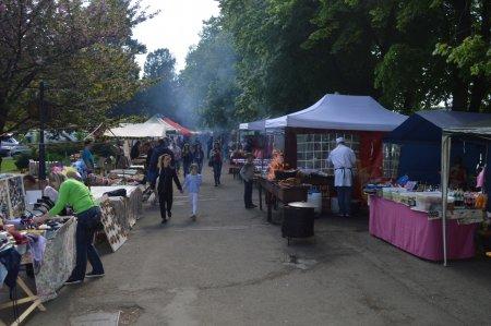 Мед, вино, бринза, сир та шашлик: в Ужгороді стартував смачний фестиваль (ФОТО)