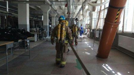У Виноградові на швейній фабриці пройшли пожежно-тактичні навчання