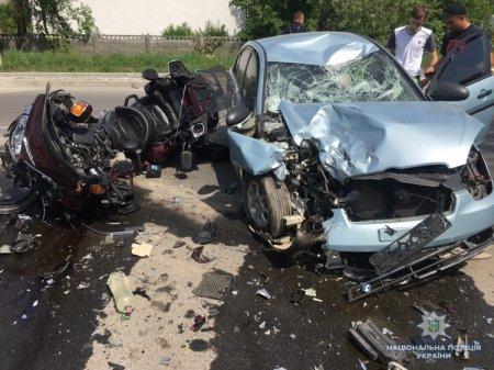 Закарпатська поліція розслідує смертельну ДТП, внаслідок якої загинула пасажирка мотоцикла