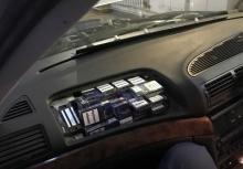 Закарпатські митники через приховані цигарки вилучили «BMW»