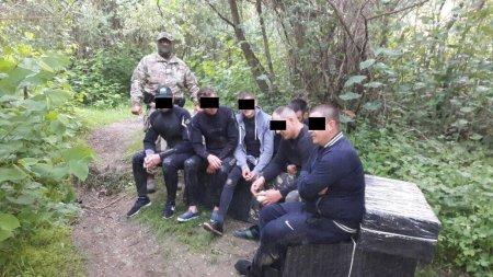 На Закарпатті затримали контрабандистів, які намагалися перенести до Румунії 12 ящиків сигарет