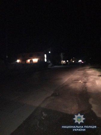 На Виноградівщині водій переїхав двох людей і втік