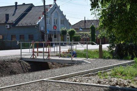 Одразу на кількох вулицях міста Берегова відбуваються ремонти (фото)