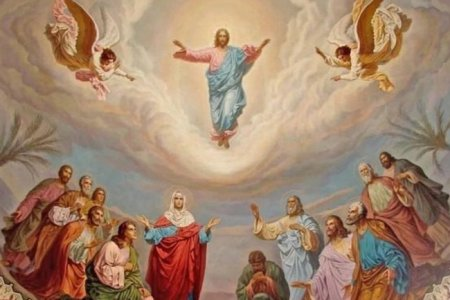 17 травня велике релігійне свято -  Вознесіння Господня