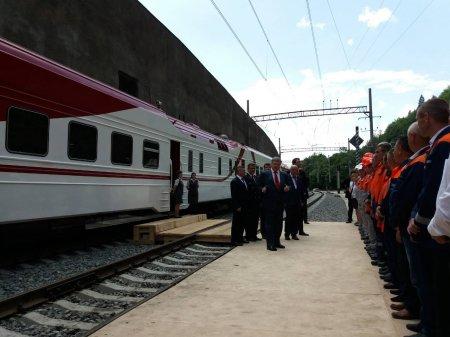 За участі Президента України відбулося урочисте відкриття новозбудованого двоколійного Бескидського тунелю (ФОТО)