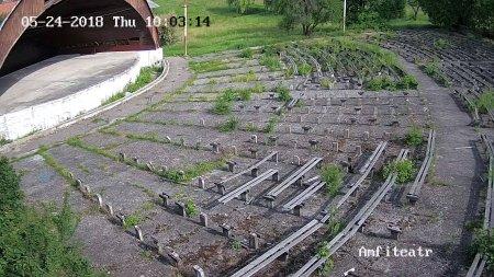 В Берегові реконструюють амфітеатр (фото)