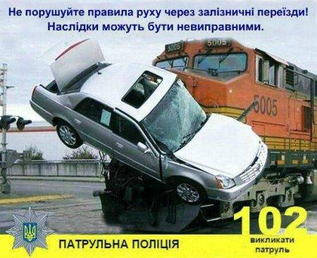 Залізнична колія — зона підвищеної небезпеки (ФОТО)