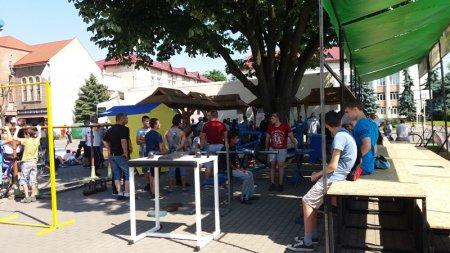 У Виноградові проходить свято спорту «Олімпійський день» (фото)