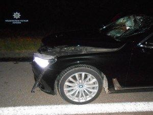 На трасі Київ-Чоп легковик на переході насмерть збив людину (ФОТО)