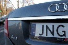 До уваги закарпатців: Поліція контролюватиме ввезення автомобілів на єврономерах