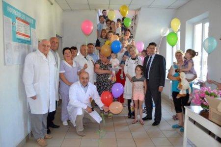 Дитяче приймальне відділення відкрили у Тячівській районній лікарні №1 (ВІДЕО)