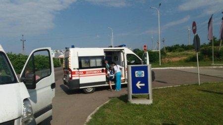 На Закарпатті мікроавтобус з дітьми потрапив у ДТП (ФОТО)