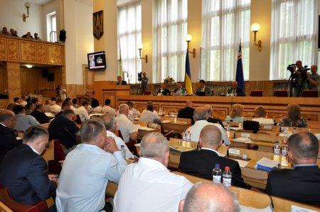 На 11 сесії Закарпатської облради ухвалено низку знакових рішень