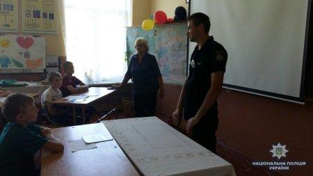 Поліцейські відвідали літні шкільні табори на Міжгірщині та Свалявщині (ФОТО)