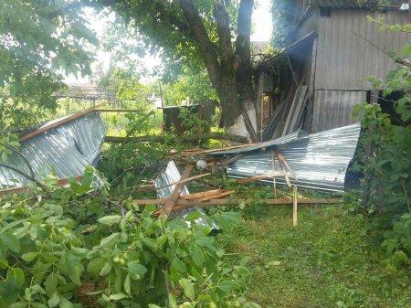 Сильний вітер, який не вщухає, вже наробив біди на Закарпатті (ФОТО)
