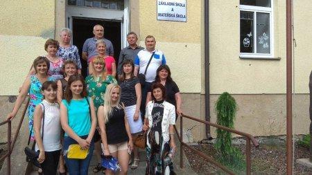Закарпатські вчителі чеської мови побувала на стажуванні в Чехії