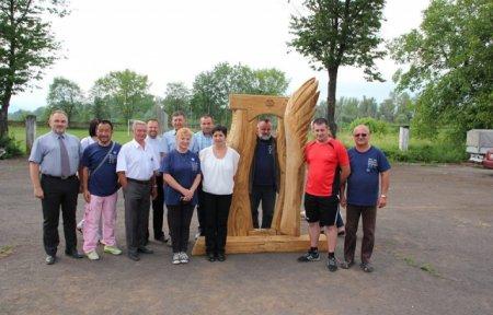 Митці з 5 країн приїхали на Скульптурний Симпозіум. За лаштунками мистецького табору (ФОТО,ВІДЕО)